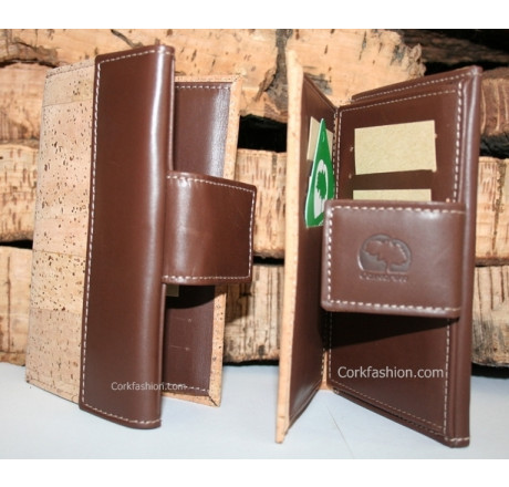 Wallet (model CC-1178) from the manufacturer Comcortiça in category Corkfashion